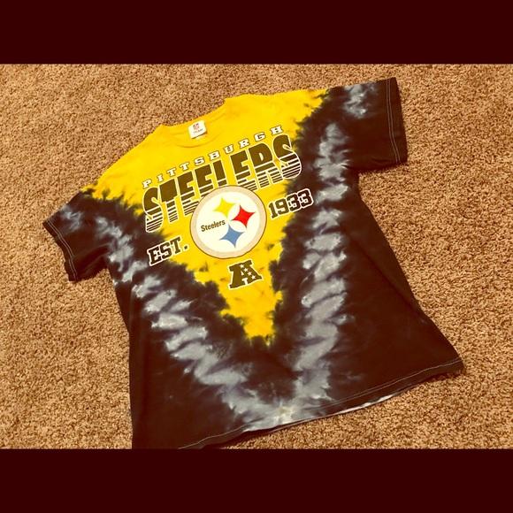 Vintage Pittsburgh Steelers Tie Dye Shirt L. M 5a9a3cfab7f72bd08c0fd809 b3533f265